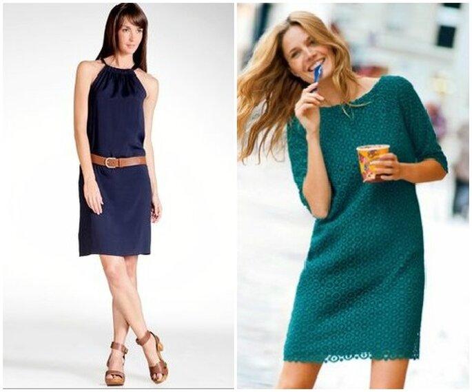 Questi colori sono perfetti anche in autunno se abbinati ad un blazer in contrasto. Foto www.laredoute.it
