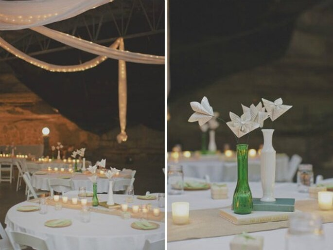 Flores de papel para tu boda - Fotos: Green Wedding Shoes