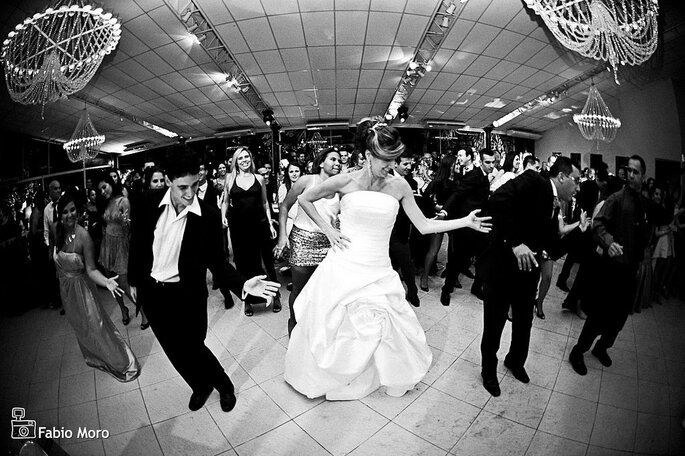 Flash mob em casamentos