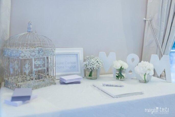 Pensez à contribuer au voyage de noces, si tel est le souhait des mariés ! - Photo : Magali Tinti pour Un mariage sans nuages