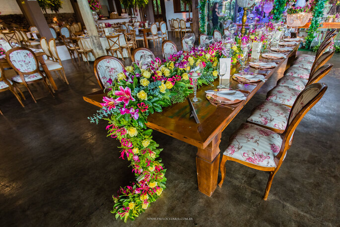 Decoração e flores: Moinho das Flores - Foto: Paulo Cezar Jr. Fotografia