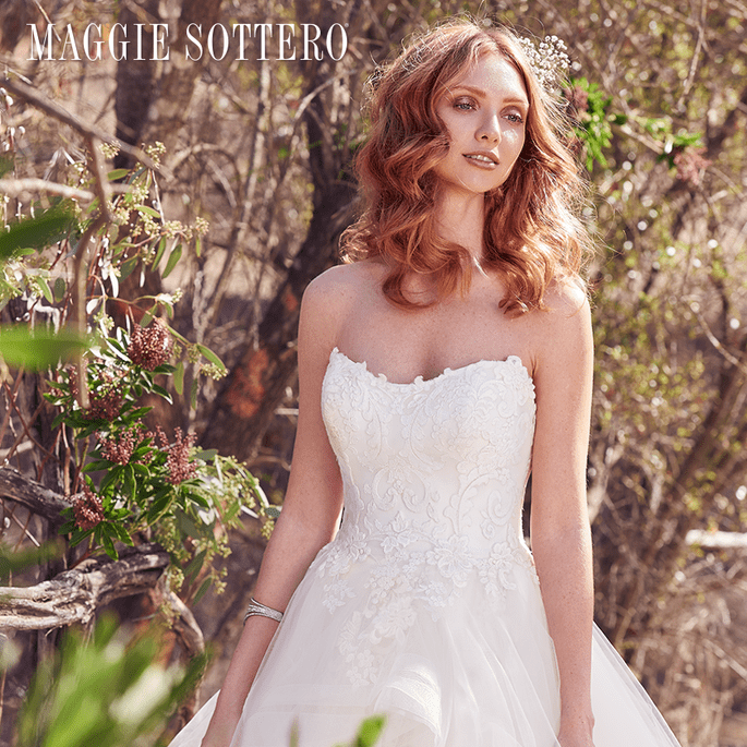 Keisha.  Maggie Sottero: Cordelia Collection.