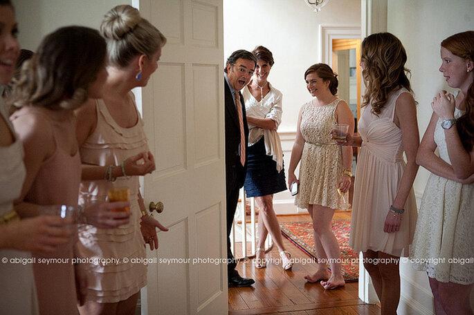 Instantes inolvidables con el padre de la novia. Foto: Abigail Seymour Photography