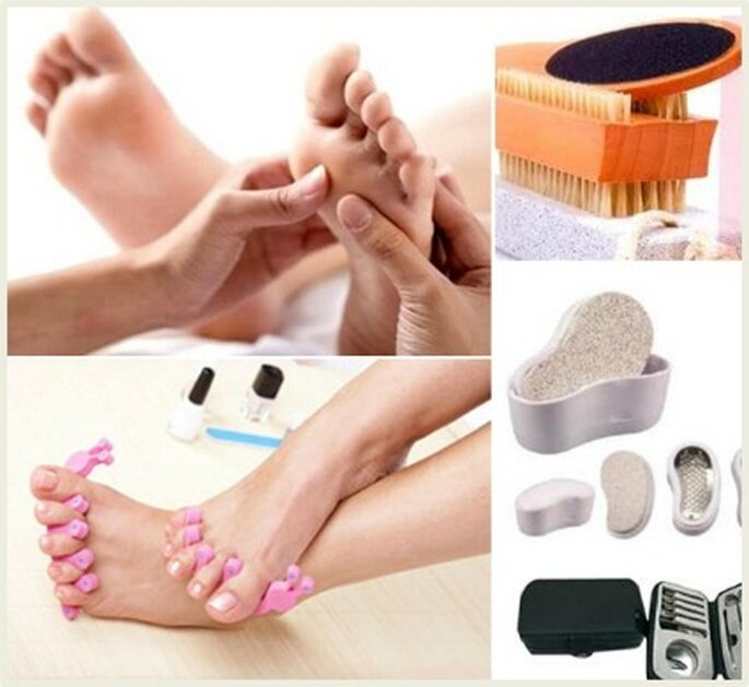 Exfoliar, aplicar mascarilla, cepillar, aplicar aceites y masajear contribuyen para conseguir unos pies suaves y relajados por varios días.
