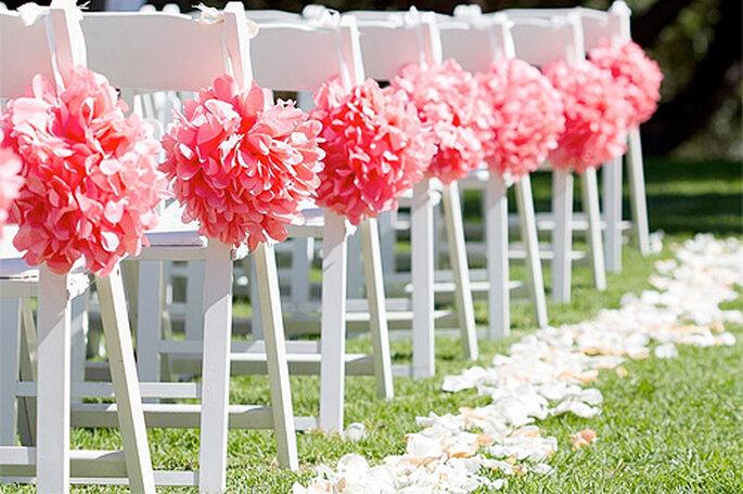 Organizar tu boda por Internet es muy fácil. Foto: The Pom Pom Shop