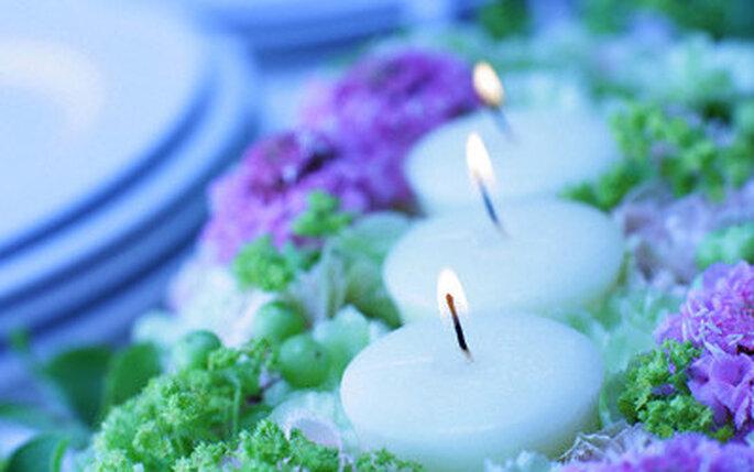 Des bougies décoratives pour votre mariage