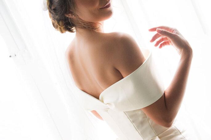 Nicola Centoducati - sposa abito scollatura spalle