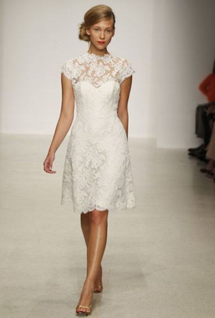 Amsale Spring 2013 reception dress