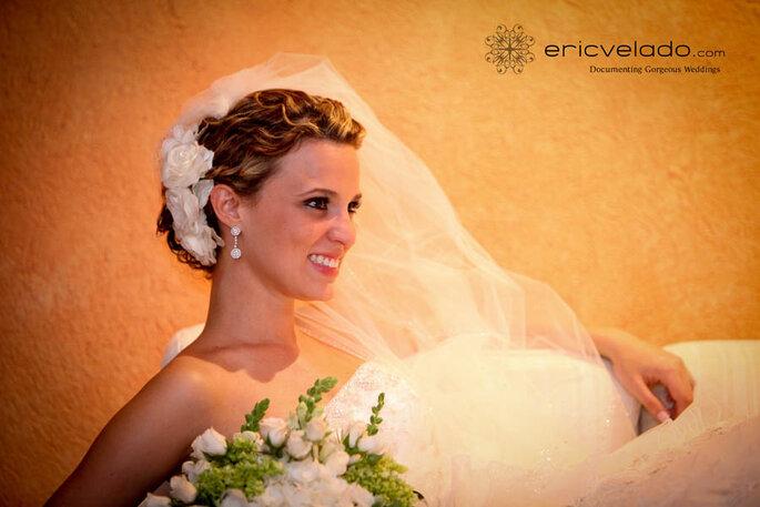Brautfrisuren für lockiges Haar - Foto: Eric Velado