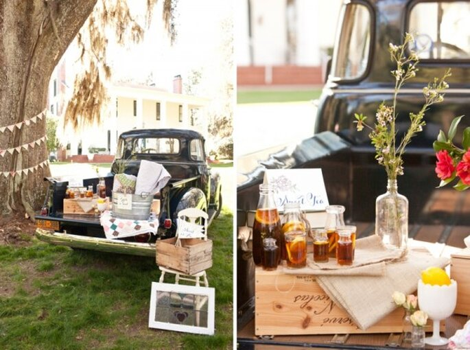 Bebidas súper originales para tu boda - Foto Ashley Daniell Photography