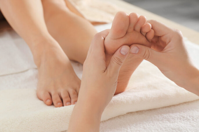 Massagem para noivas