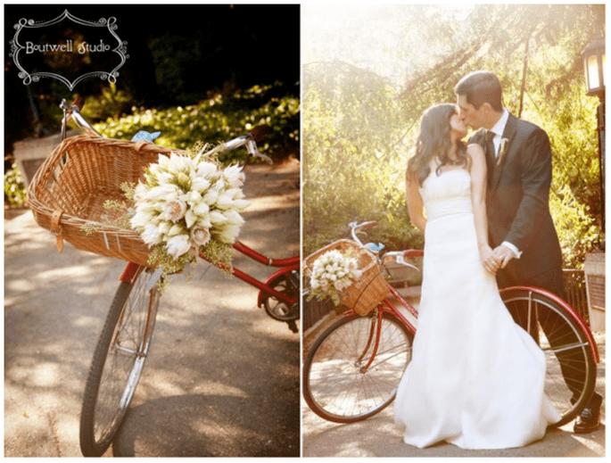 Decoración de una boda con bicicletas - Foto Boutwell Studio
