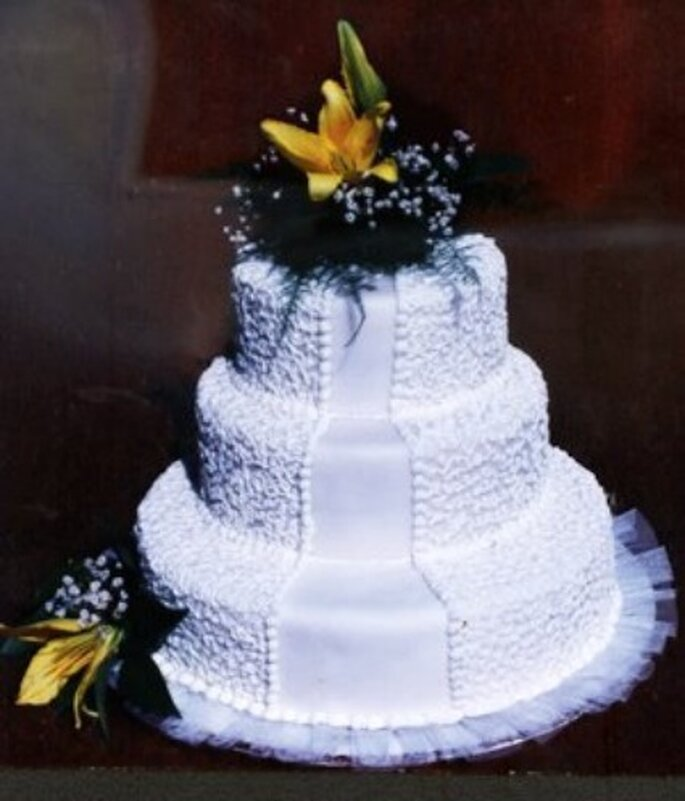 Torta imperial con filigrana