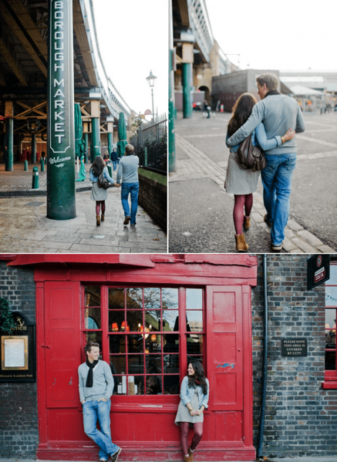 Fotos pre boda de Verena y Matthias en Londres - Foto Nadia Meli