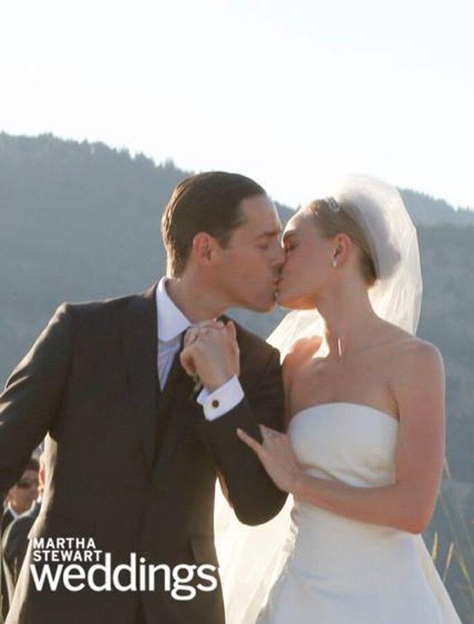 La boda de Kate Bosworth y Michael Polish - Martha Stewart Weddings Facebook