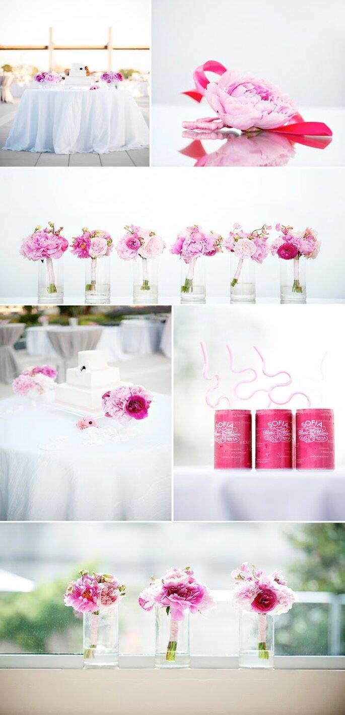 Um casamento rosa - Style me Pretty