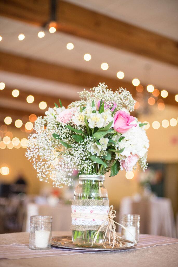 Detalles para una boda shabby chic - Rachwal Photography.