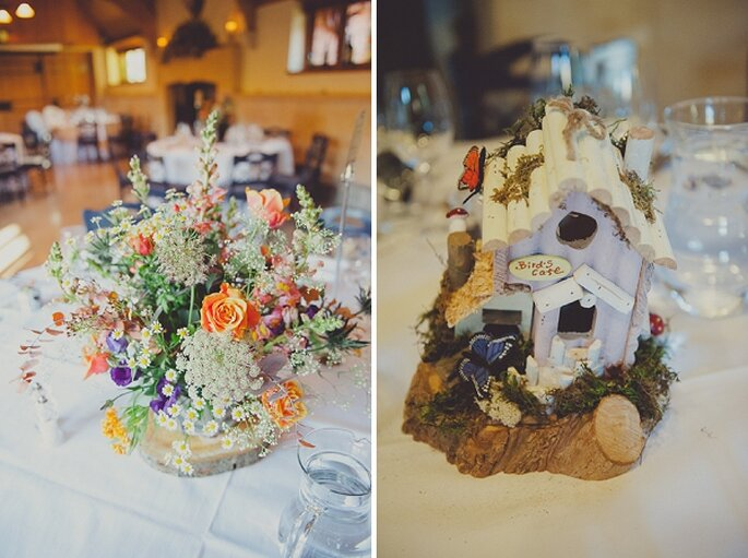 Una boda hipster inspirada en la magia de Alicia en el país de las maravillas - Foto Ellie Gilliard