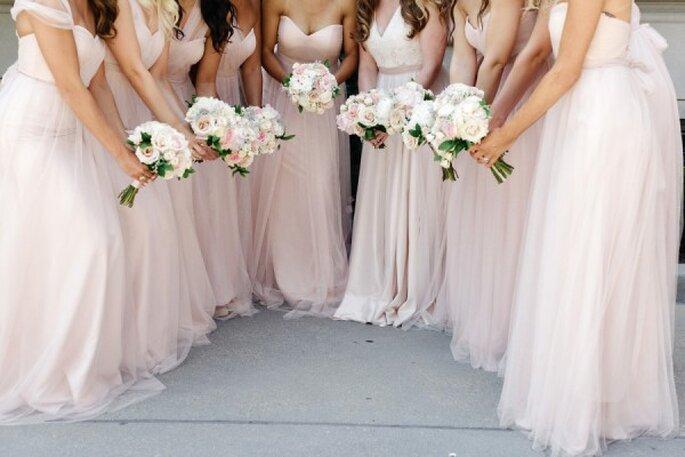 6 tips infalibles para elegir a tus damas de boda - Foto Jana Williams