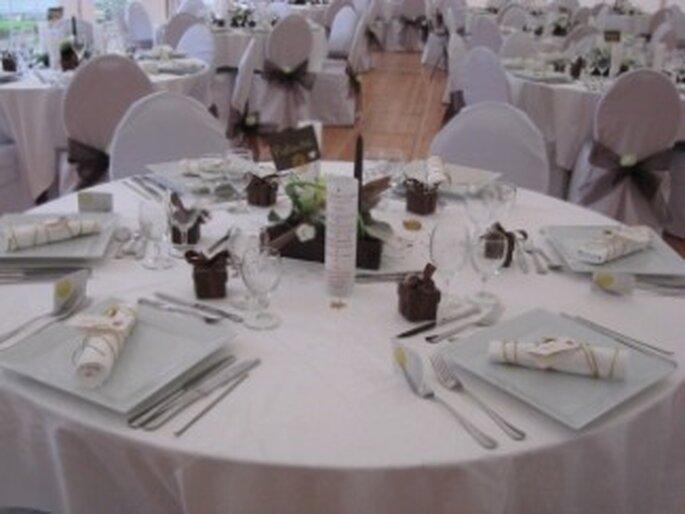 Décoration de table de mariage : misez sur le raffinement