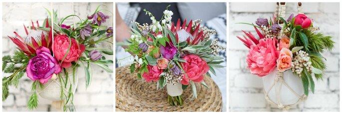 Photo : Annaimages -Fleuriste : Aude Rose -Décoration/faire-part : Dessine moi une étoile