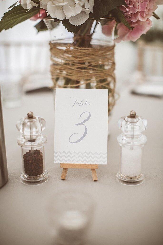 Chevron en la decoración de tu boda - Jay Rowden
