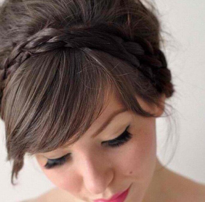 Schicke Ponys für Hochzeitsgäste – Foto: instagram/hairgram