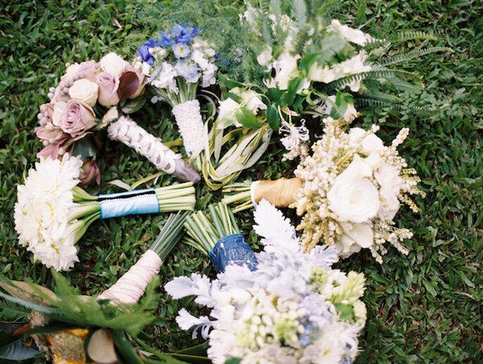 El mejor ramo de novia para reflejar tu estilo - Foto Wendy Laurel