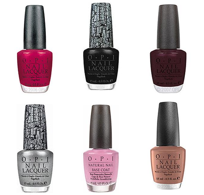 Top 6 de colores para uñas de OPI nails
