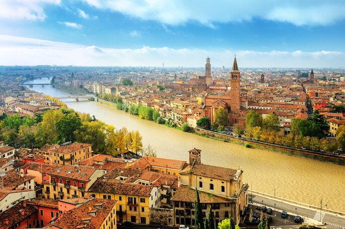Verona - Boris Stroujko en Shutterstock