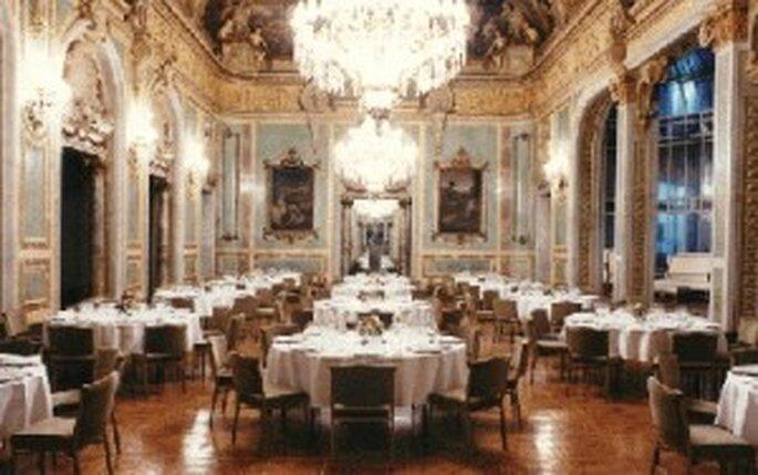 Un des salons du Casino de Madrid ouvert à la location