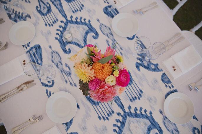 Caminos de mesa para la decoración de boda - Our Labor of Love