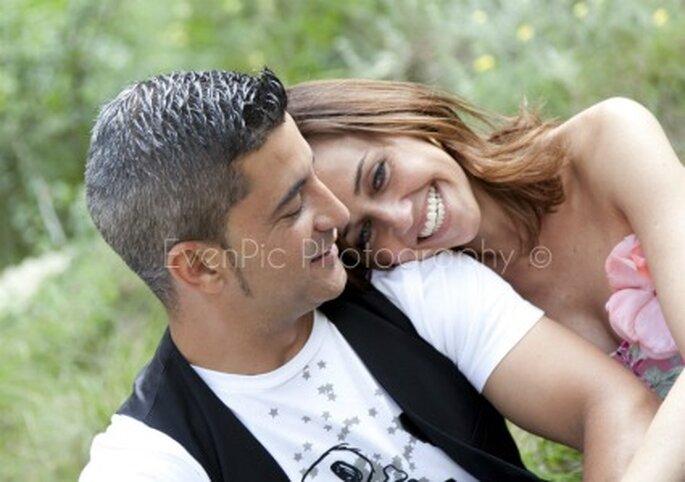 Miguel y Erika disfrutando de su momento pre-boda- Fotógrafo: EvenPic