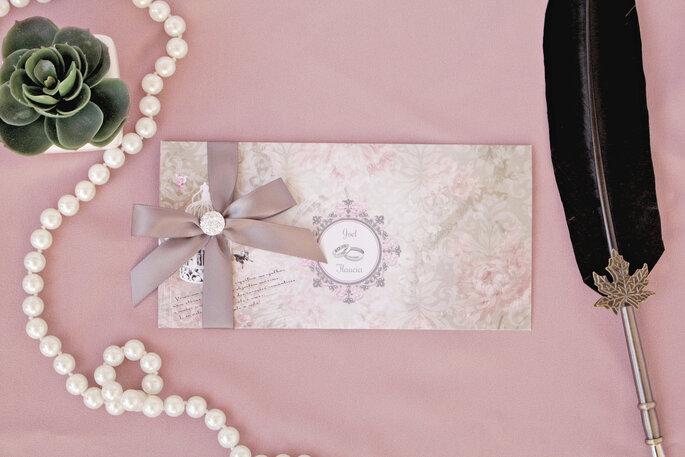 Elegante und edle Hochzeitspapeterie