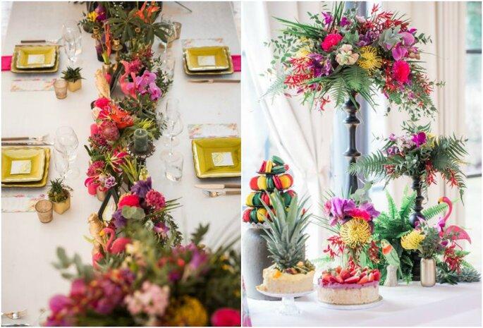 fleurs exotiques exotisme