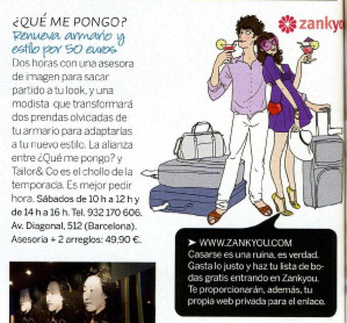Zankyou en la revista Woman del mes de Mayo 2009