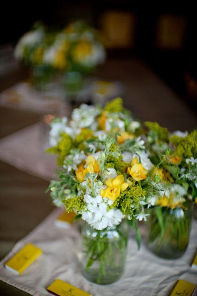Los colores perfectos para decorar una boda en 2015 - Foto Hillary Maybery Photography