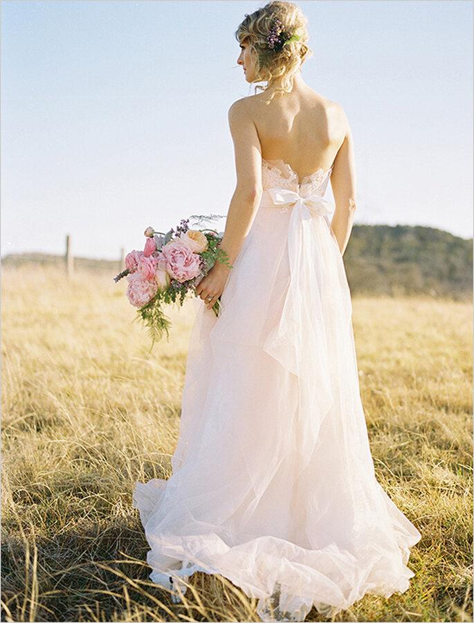 Cómo elegir el mejor tocado para tu look de novia - Foto Ben Q Photography
