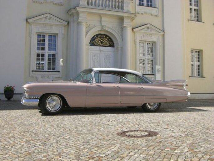 Cadillac - mit Stil zur Hochzeit, Foto: Hochzeitsautos Berlin