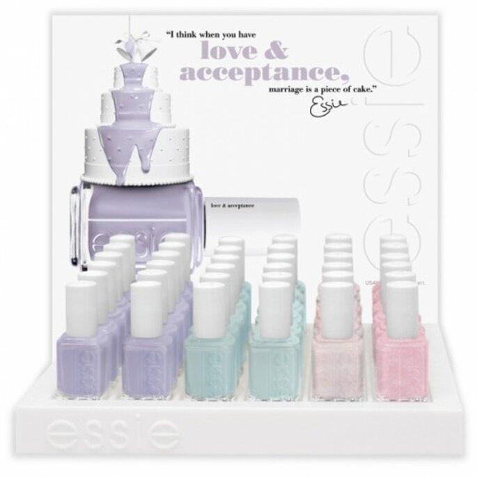 Essie Wedding Collection Spring 2012 pintura de uñas para novias- Foto: Essie