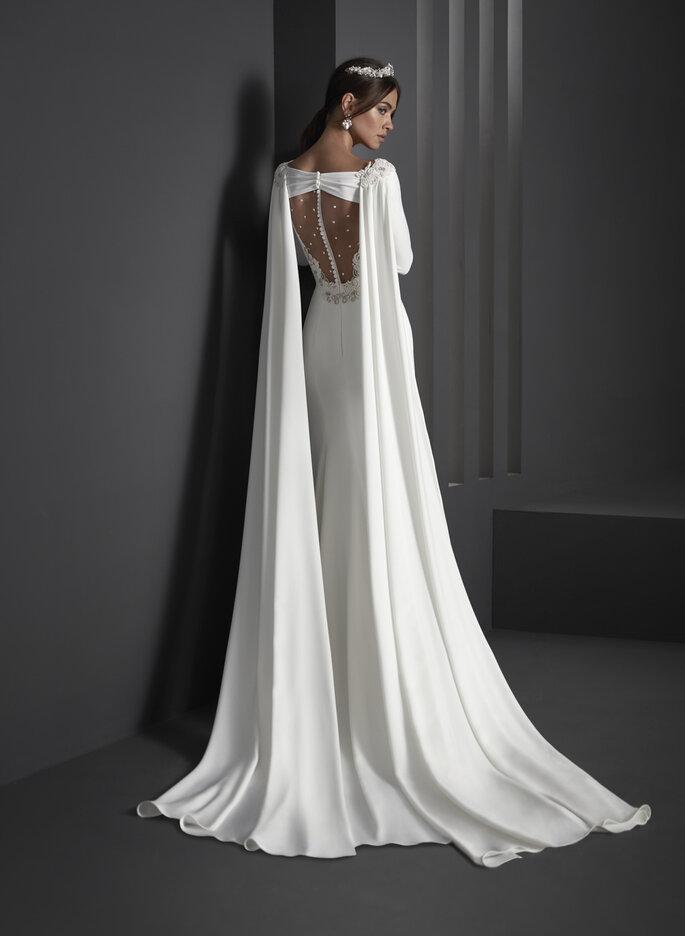 Manu García diseñador de novia en Madrid