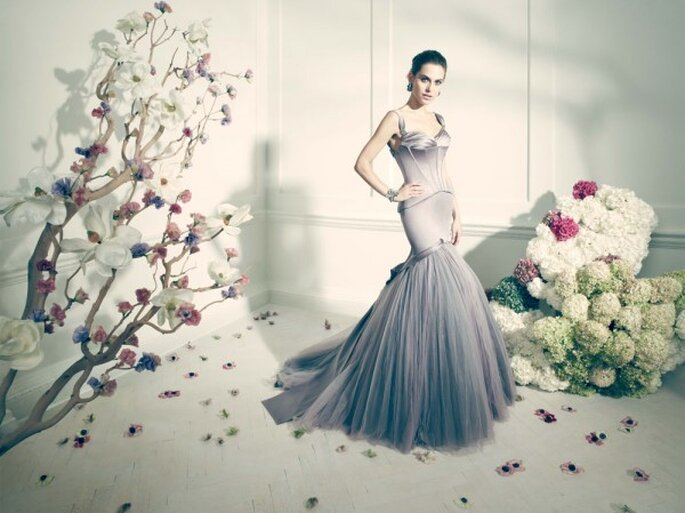 Vestidos de novia poco convencionales para las más fashionistas - Foto Zac Posen
