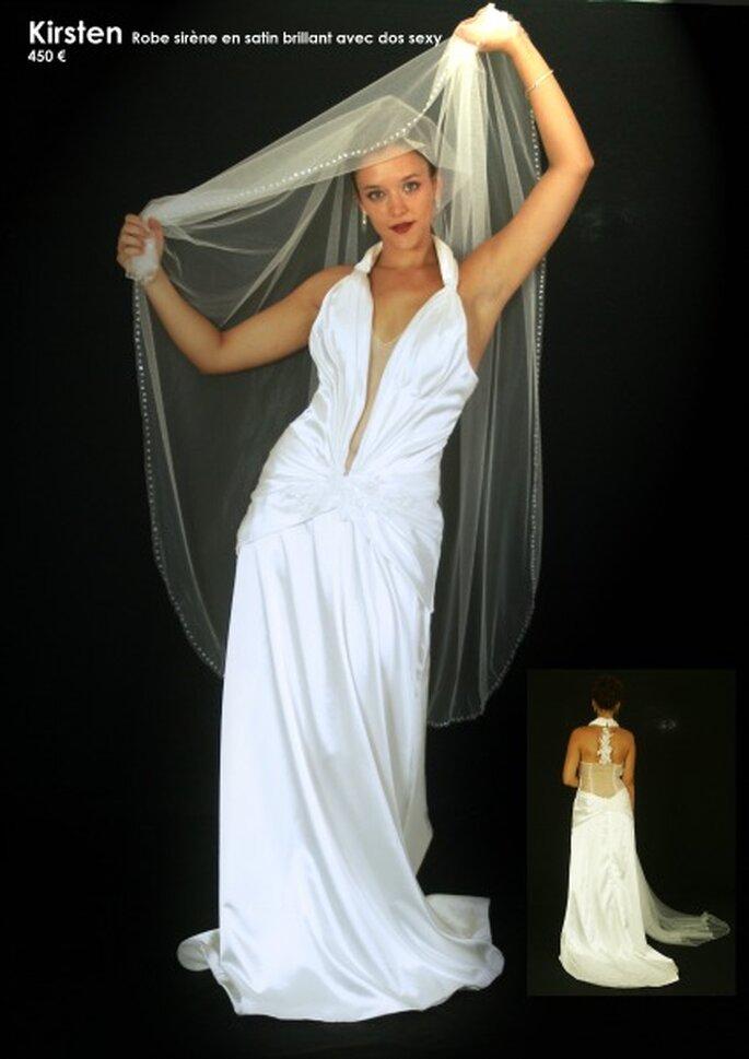 Au coeur d'un rêve : des robes de mariée personnalisables à un prix unique - Source : Au coeur d'un rêve, modèle Kirsten