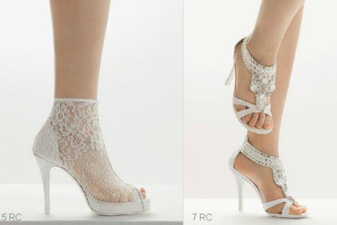 foto ufficiali comprare a buon mercato Los Angeles Collezione 2009 scarpe da sposa Rosa Clará