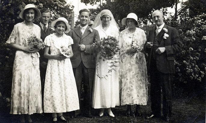 Boda en 1933. Foto: Carol