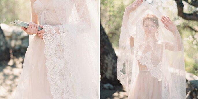 Lunares y más lunares para tu boda. Foto: SIBO Designs