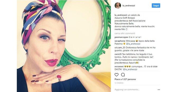 Foto via Instagram @la_andreozzi