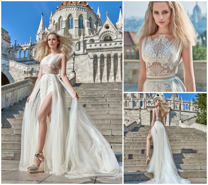 Image: Galia Lahav Ivory Tower Haute Couture Collection, dress 1609 Flavia