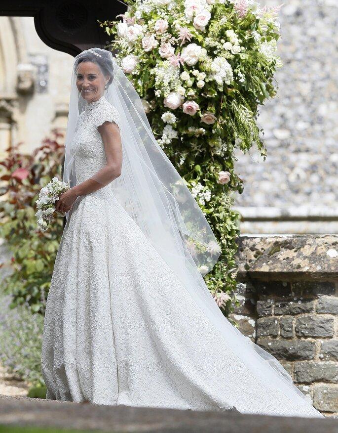 Vestido de novia de Pippa Middleton.