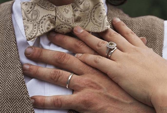 Come fedi nuziali, l'anello della nonna